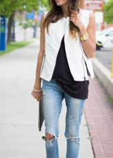 white-leather-vest-and-jeans